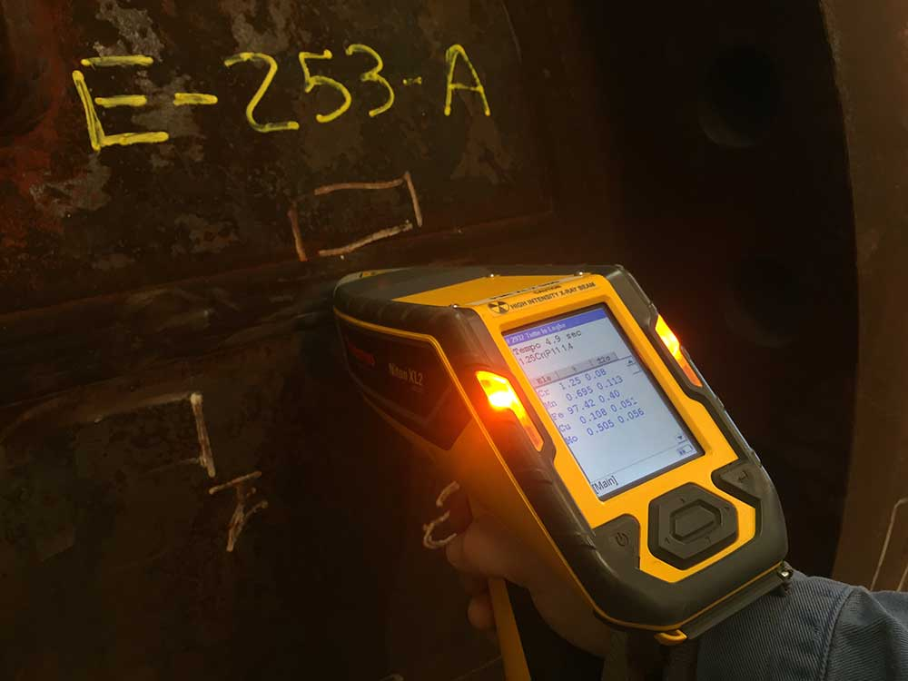 Positive Material Identification with Niton XL2 980 Gold